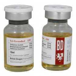 Flaconcino da 10ml di Tri-Trenabol 150 British Dragon [150mg/1ml]