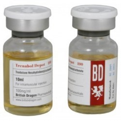 Flaconcino da 10ml Trenabol Depot 100 British Dragon [100mg/1ml]